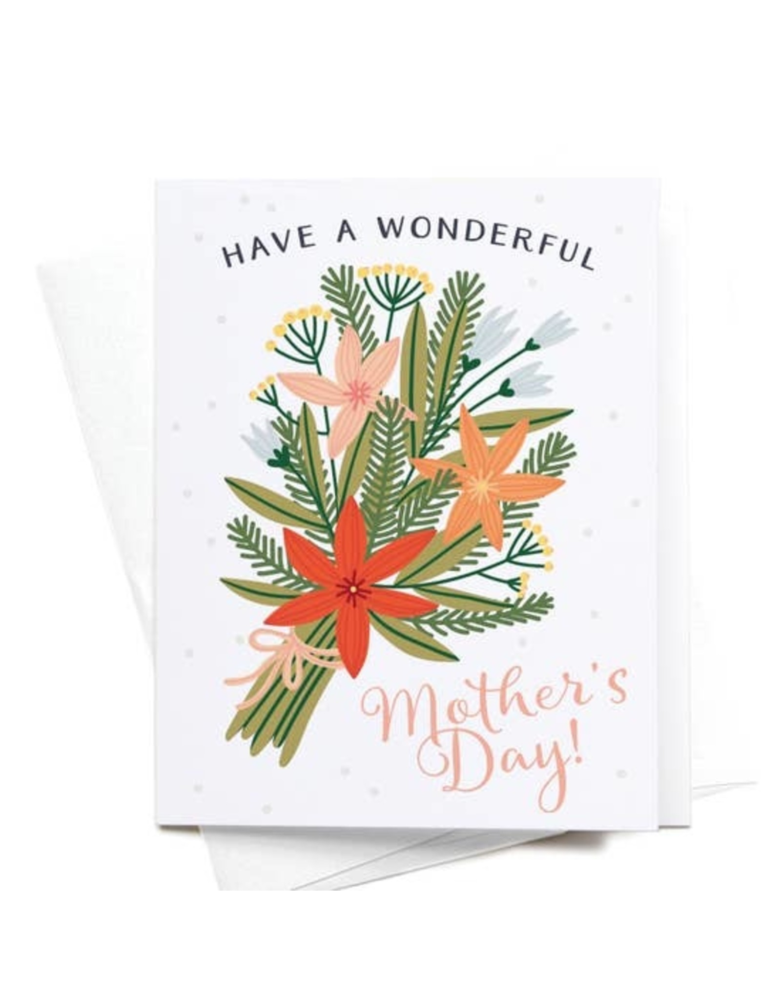 Onderkast Studio Onderkast - Have A Wonderful Mother's Day! Bouquet Greeting Card