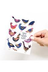 Onderkast Studio Onderkast - Birds of a Feather Flock Together Greeting Card
