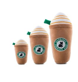 Haute Diggity Dog Starbarks Frenchie Roast (with straw) - Regular - Dog Toy