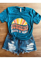 Texas Heart Co Sunshine State of Mind T-Shirt