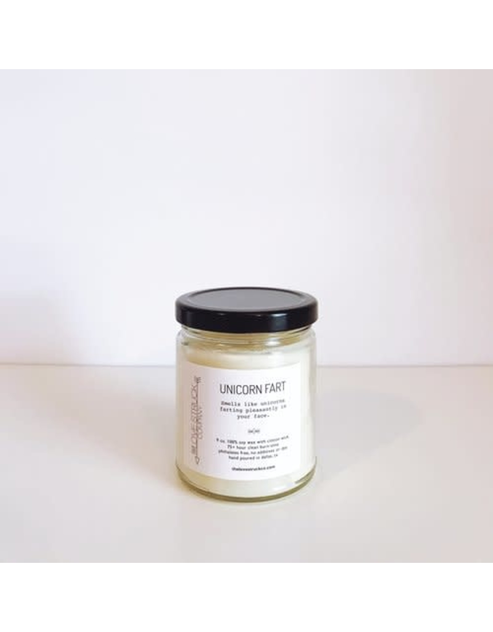 Love Struck Unicorn Fart Soy Candle