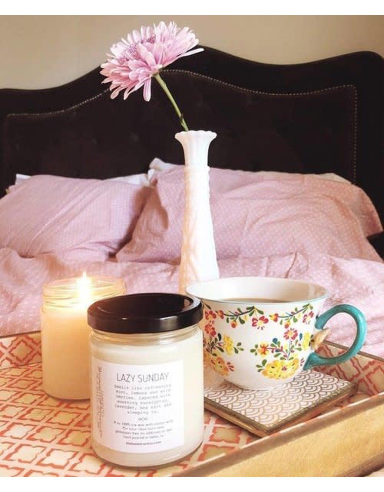 Love Struck Lazy Sunday Soy Candle