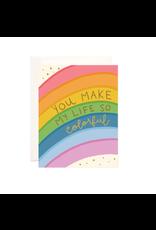 Bloomwolf Studio Bloomwolf - Colorful Greeting Card