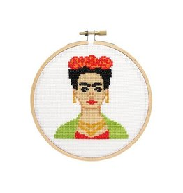 The Stranded Stitch Frida Cross Stitch Kit