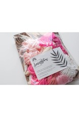 Hello Dear Heart Macrame Rainbow Kits for Kids: Pink