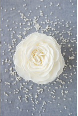 A'Marie's Bath Happies and Body Essentials Gracious Pearl Soap Flower
