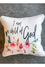 Little Birdie Child of God Piped Pillow