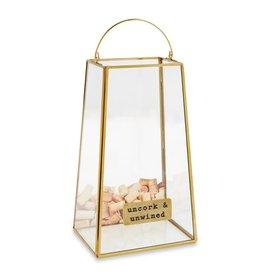 Mud Pie Brass Cork Display Box