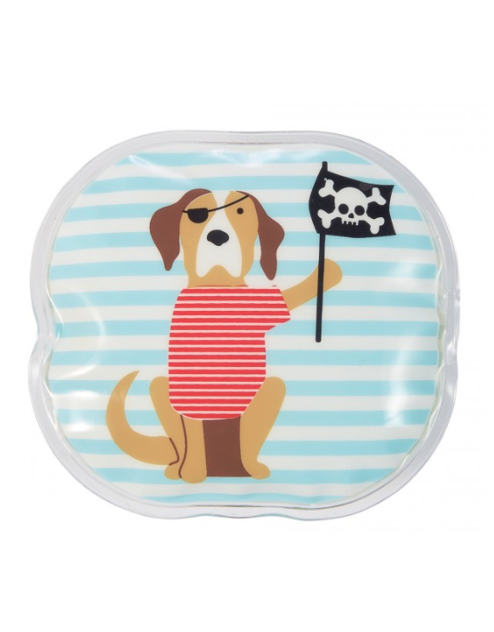 Mud Pie Pirate Puppy Ouch Pouch