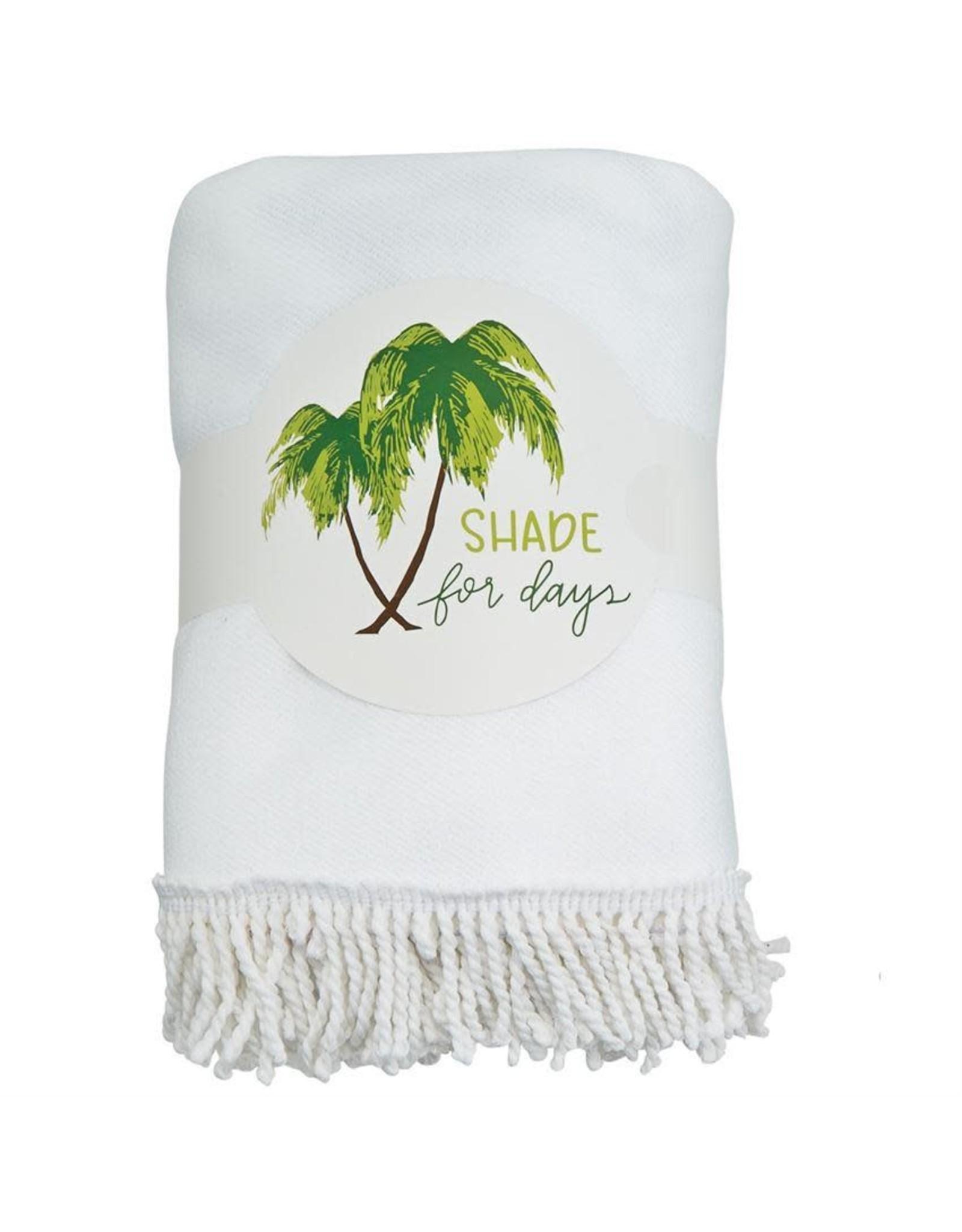 Mud Pie Tropic Circle Towel Shade