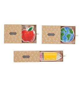 Mud Pie Apple Terracotta Trinket