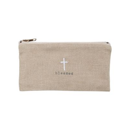 Mud Pie Blessed Pazitive Pouch