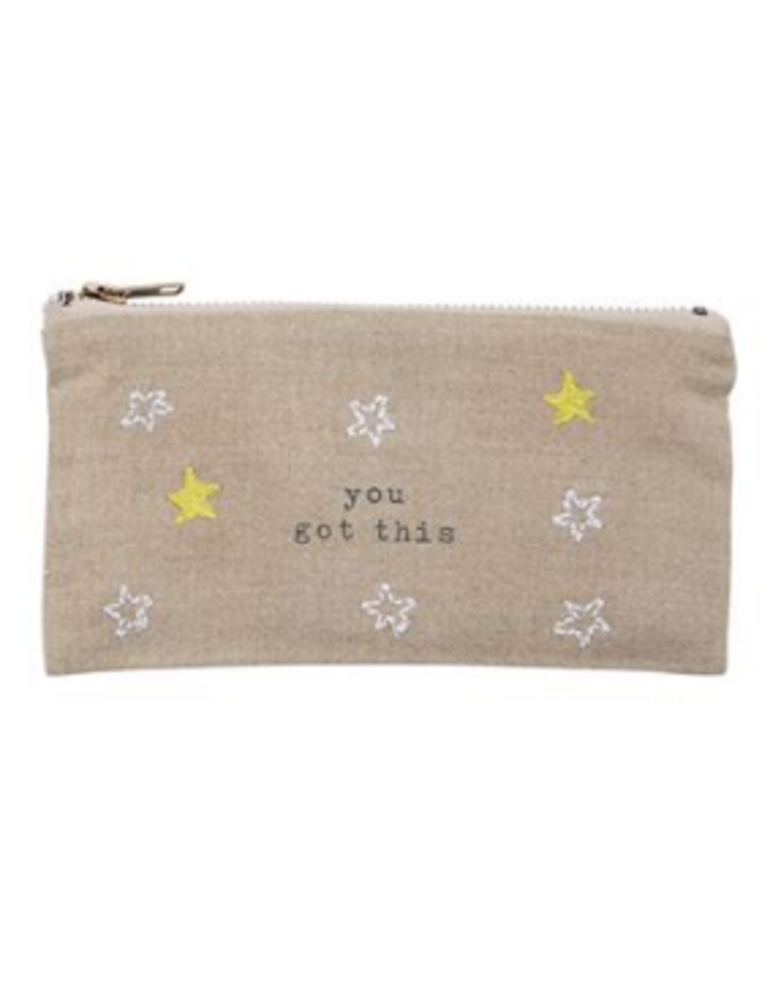 Mud Pie Got This Pazitive Pouch