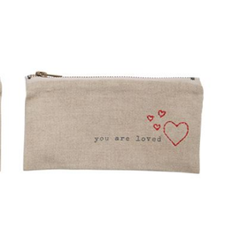 Mud Pie Loved Pazitive Pouch