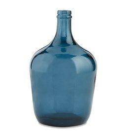 Mud Pie Dark Blue Carafe Bottle