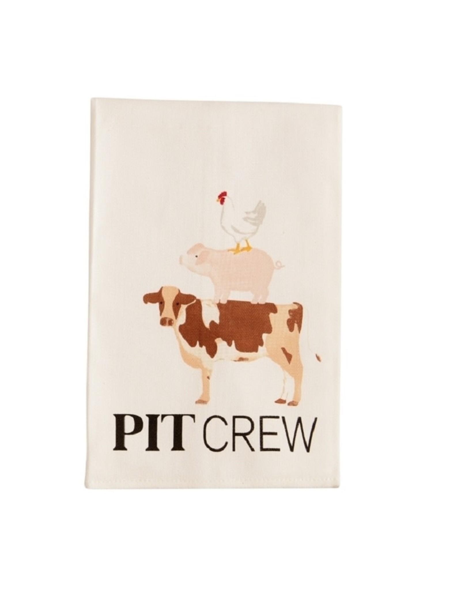 Mud Pie Pit Crew BBQ Cotton Towel