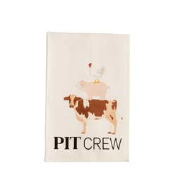 Mud Pie Pit Crew BBQ Cotton Towel