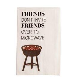 Mud Pie Microwave BBQ Cotton Towel