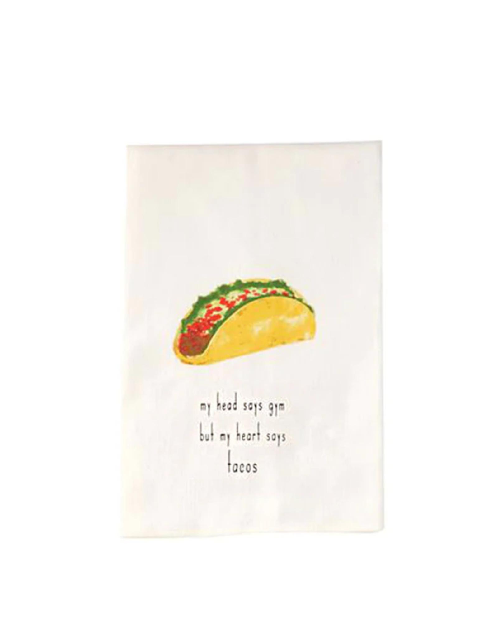 Mud Pie Taco Fiesta Dish Towel