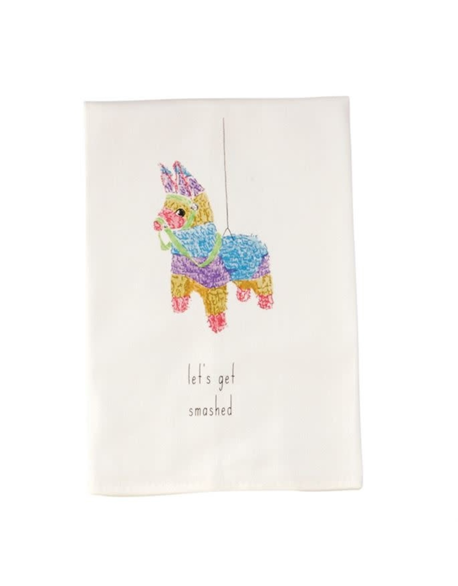 Mud Pie Pinata Fiesta Dish Towel