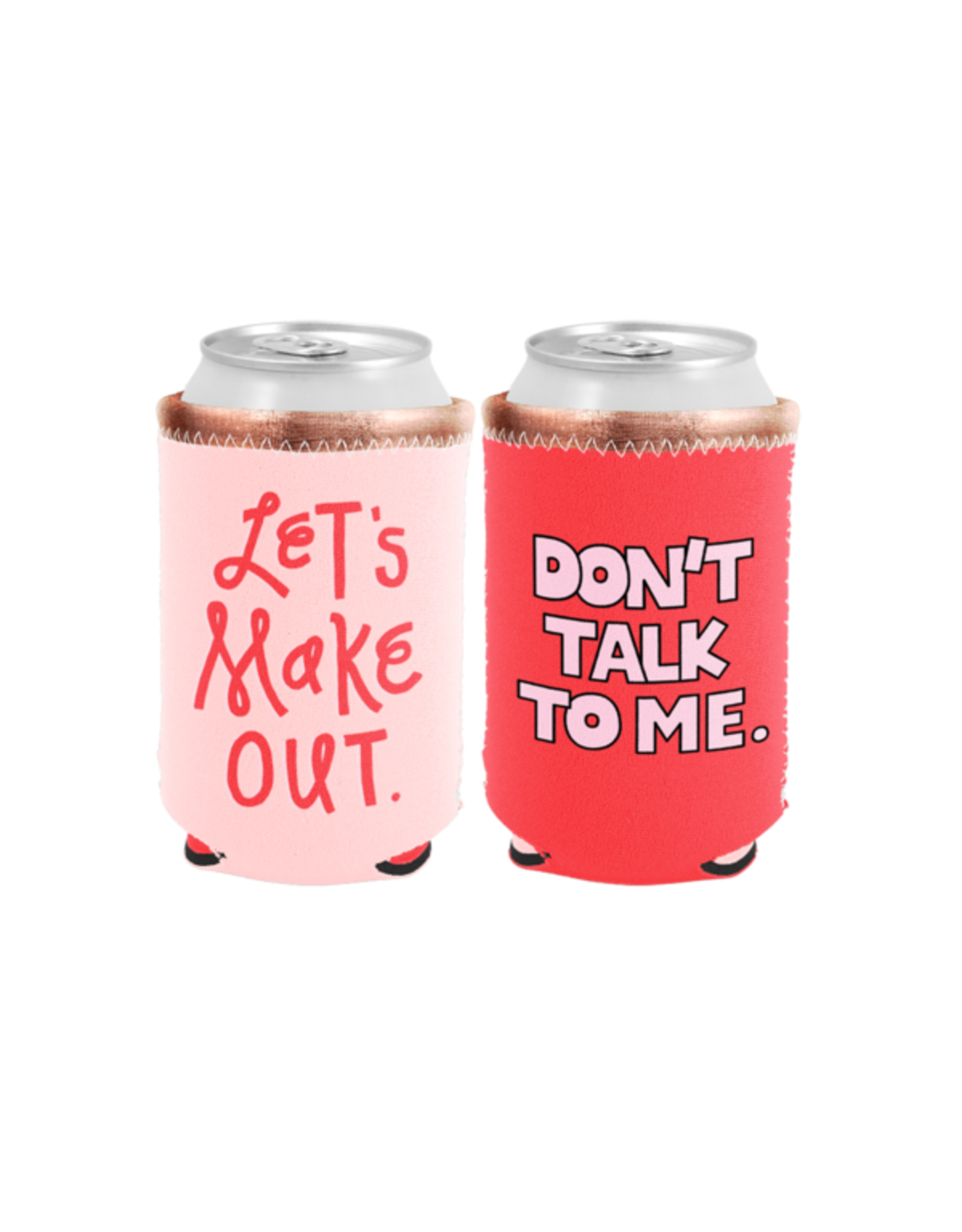 Talking Out of Turn Reversible Can Cooler - Let's Make Out