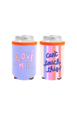 Talking Out of Turn Reversible Can Cooler - Can't Touch This