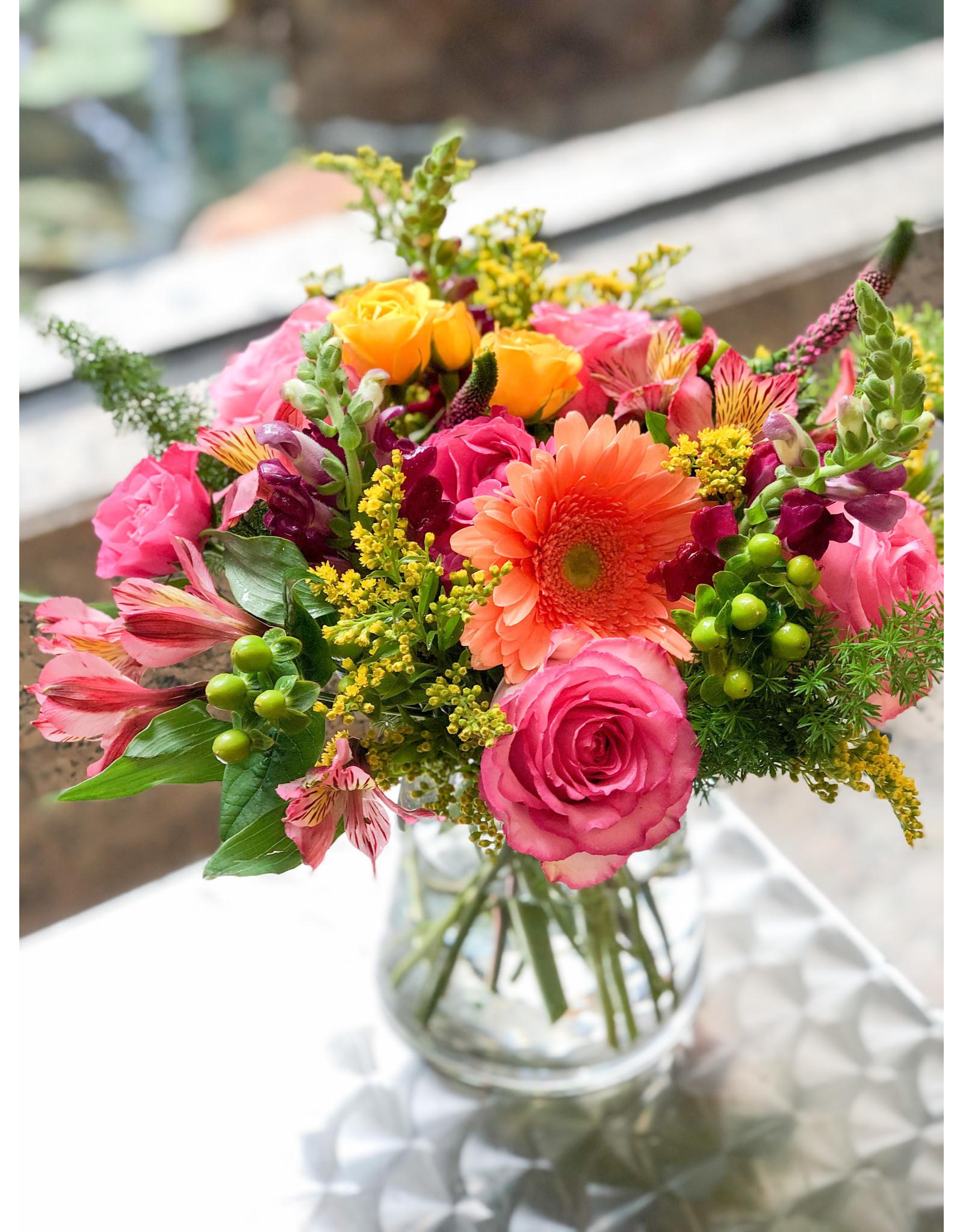 Charming $50 Vase Floral Arrangement