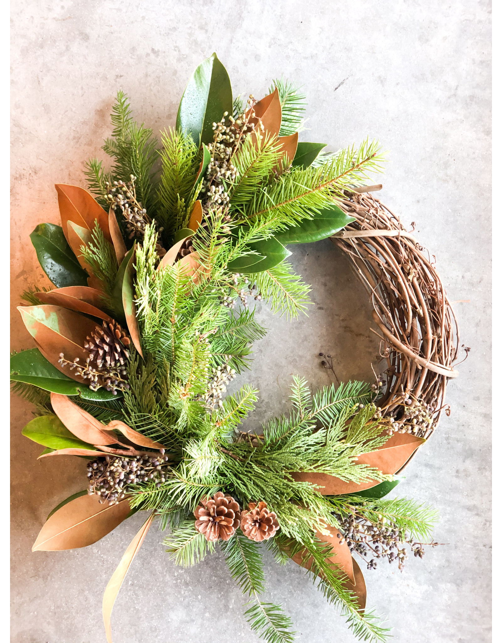"Charming 8"" Willow Holiday Wreath"