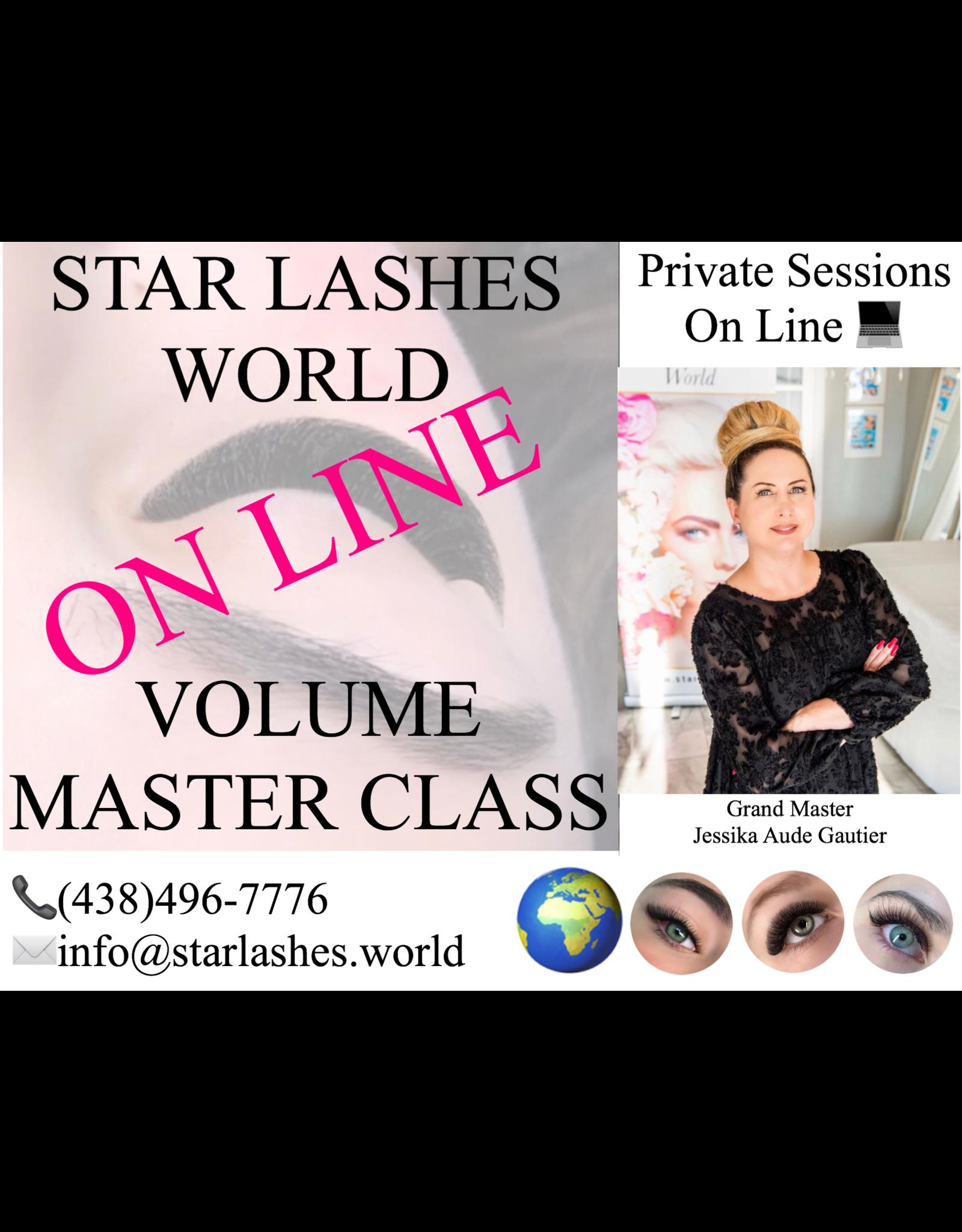 Star Lashes World Online Volume Master Class