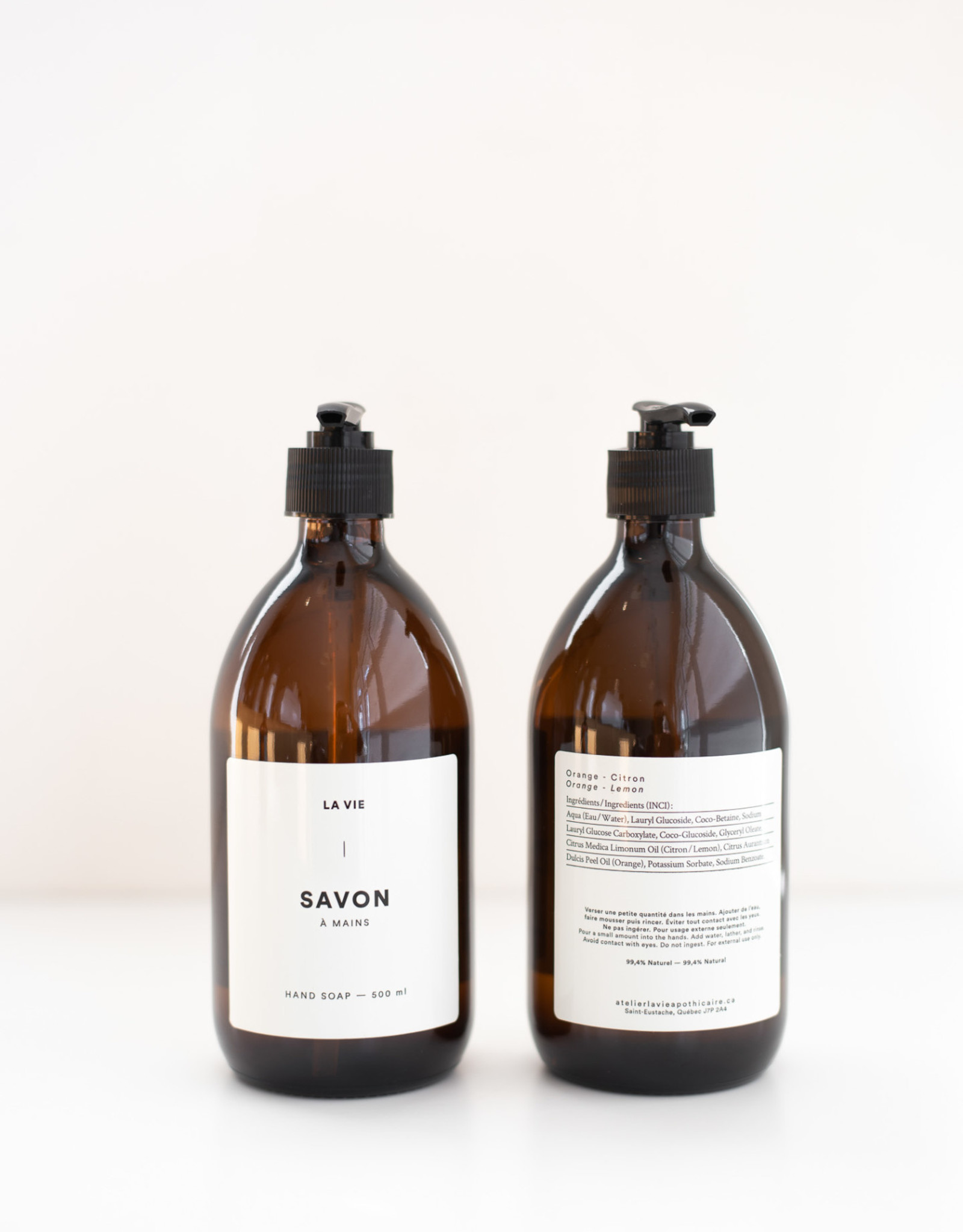 La Vie Apothicaire Savon à mains 500 ml