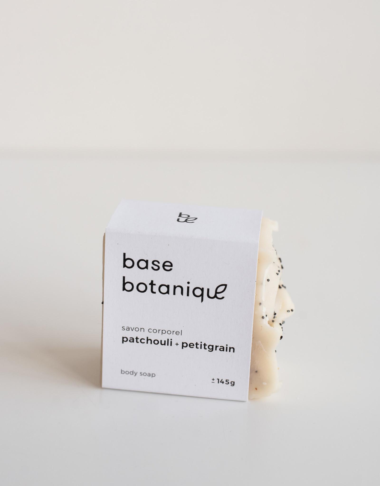 Base Botanique Savon corporel Patchouli & Petitgrain