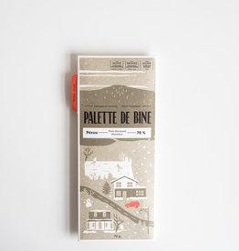 Palette de Bine Chocolat Pérou Marañón 70%