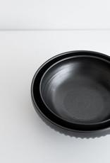 Christian Roy Bol à Manger Petit - Motif à Cannelures