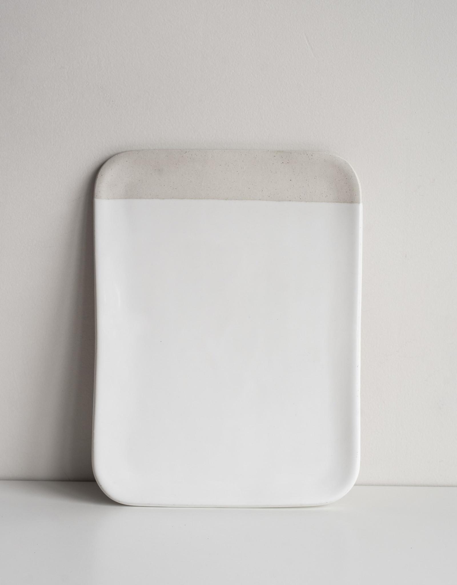 Atelier Tréma Grand plateau rectangle 11x15''