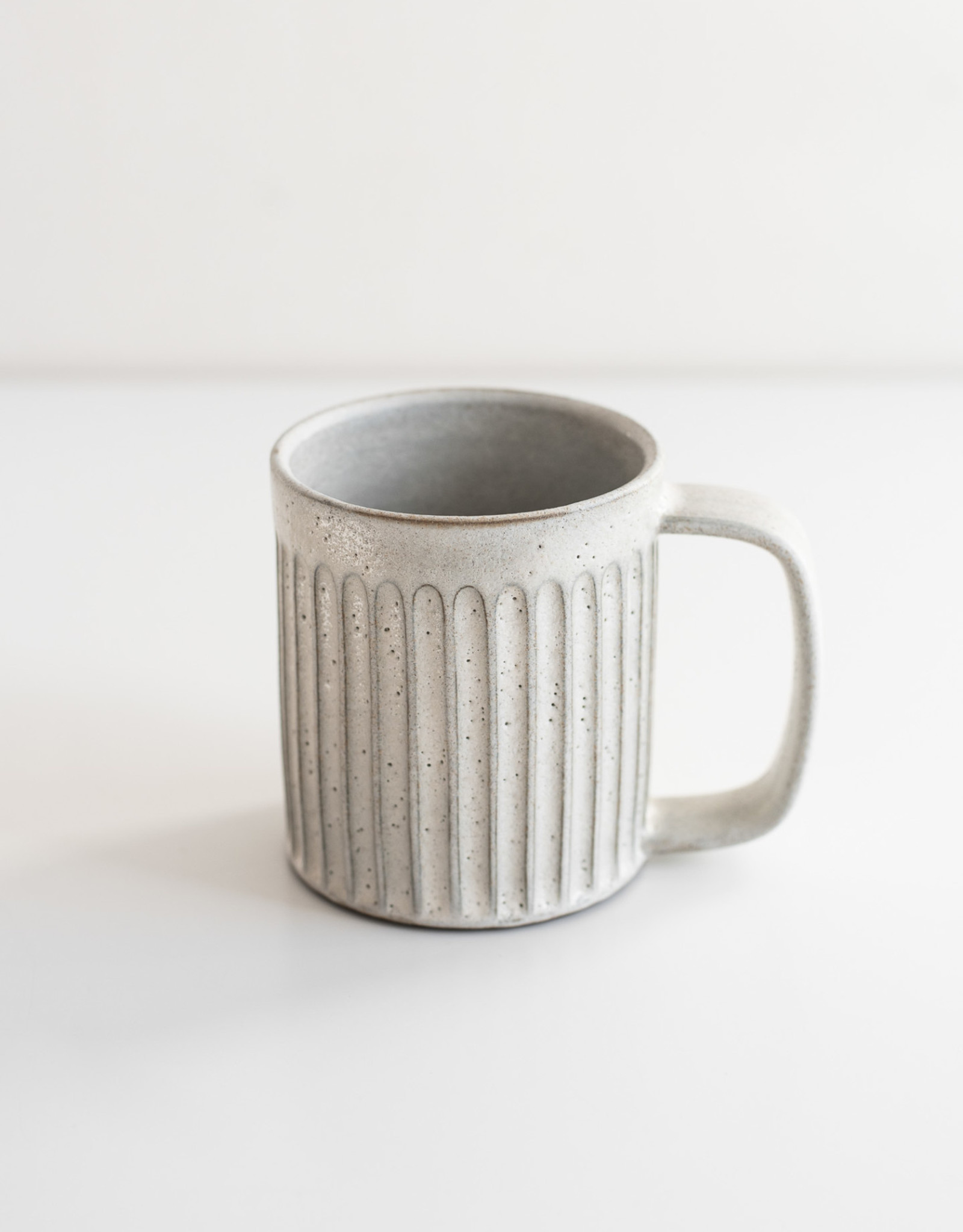 Tasse à café - Motif à Cannelures