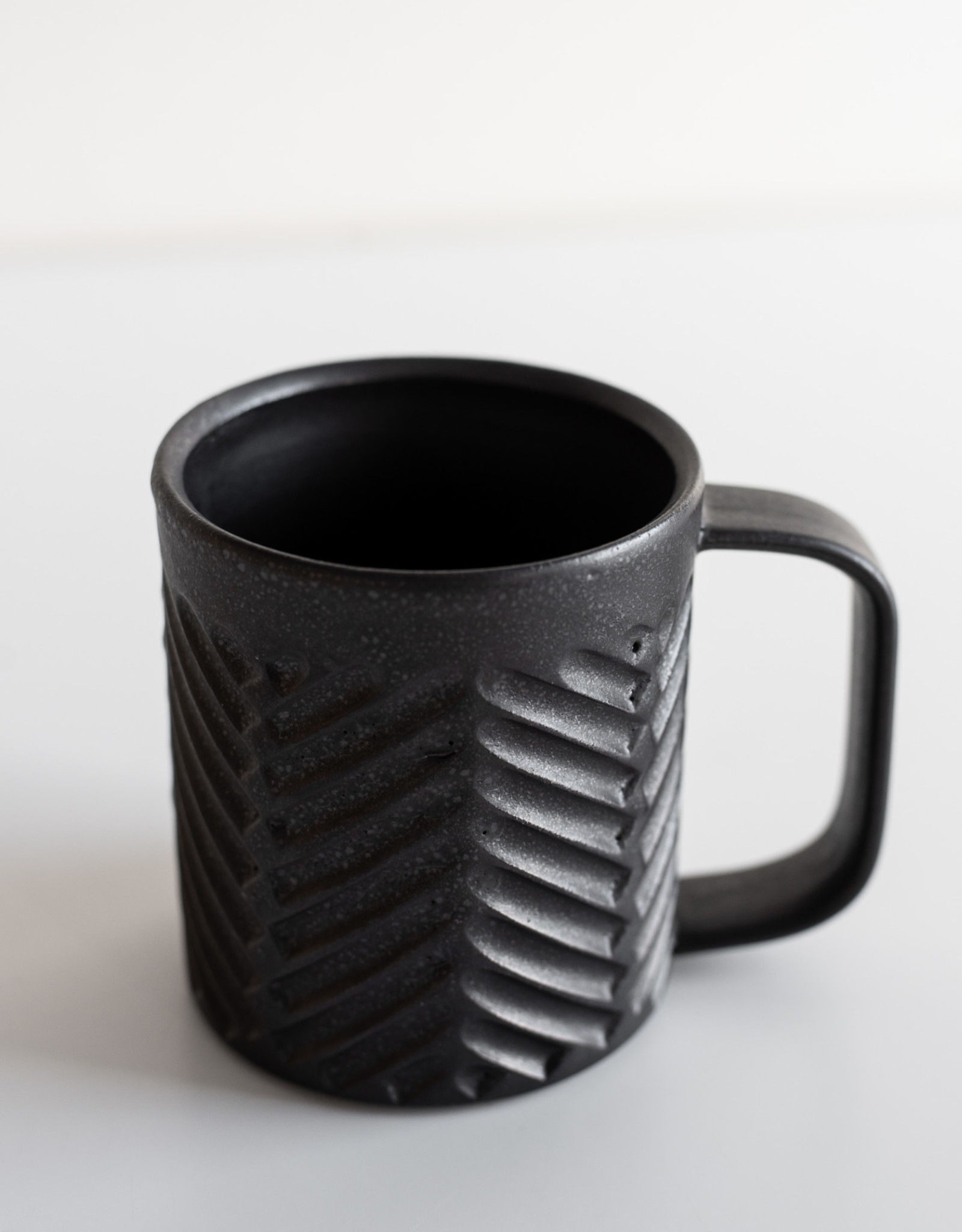 Tasse à café - Motif à Chevrons