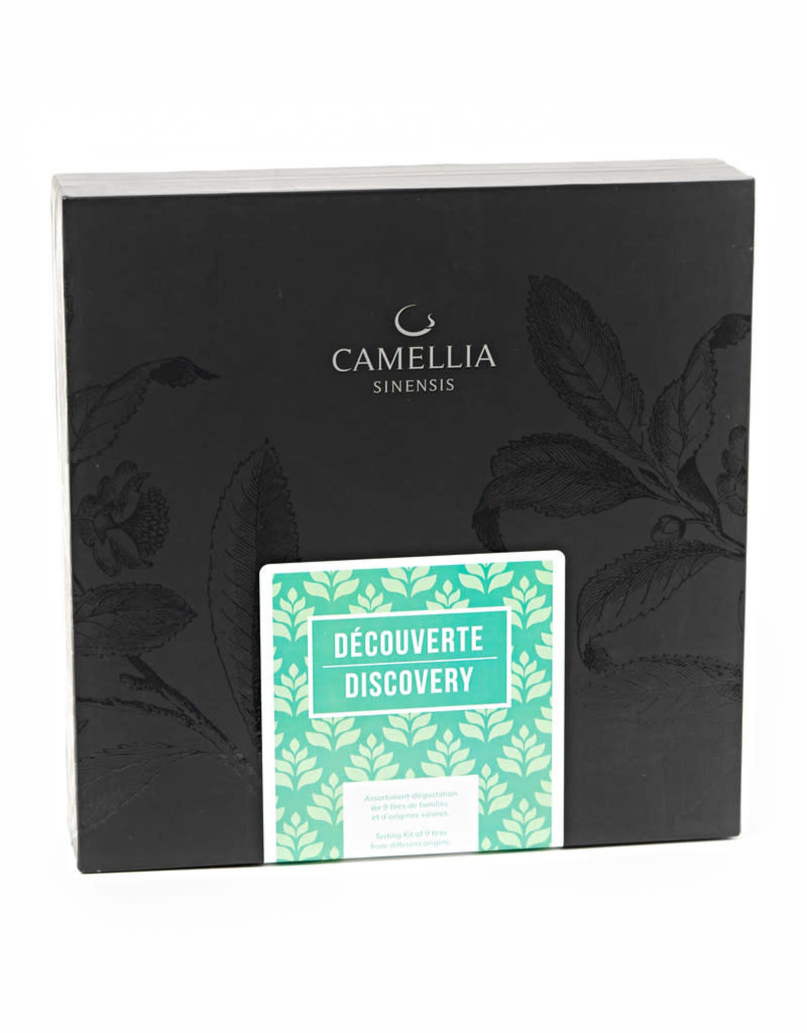 Camellia Sinensis Coffret Exploration 9 thé- Découverte