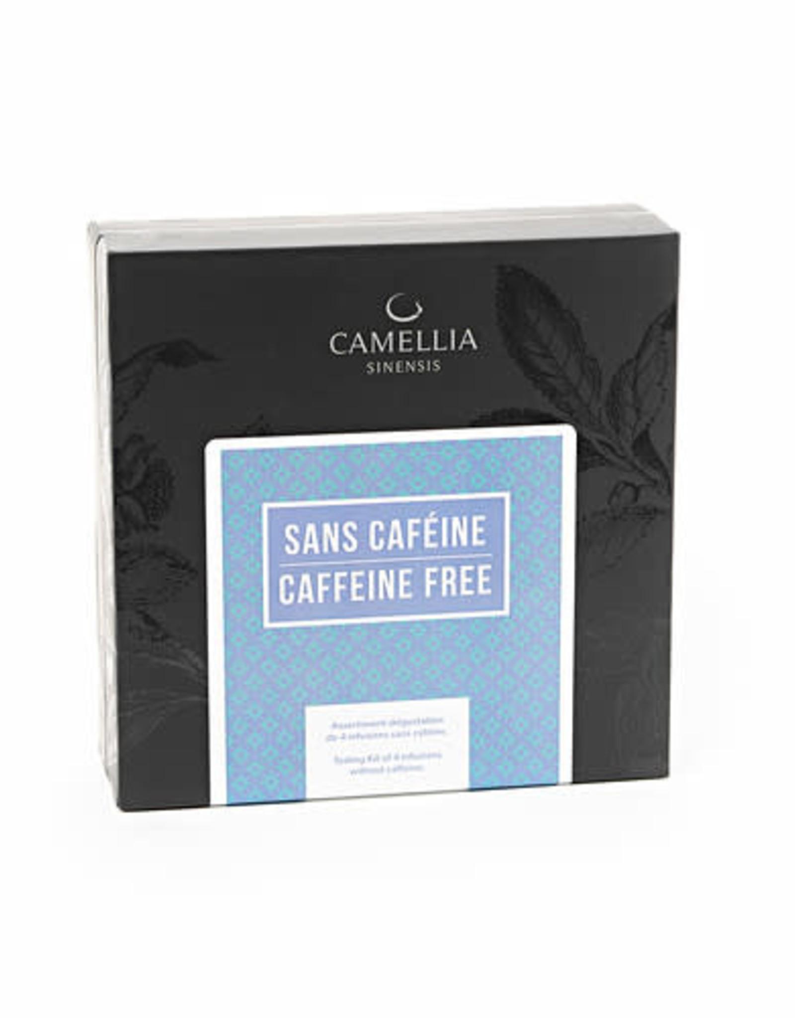 Camellia Sinensis Coffret Exploration 4 thé- Sans Caféine
