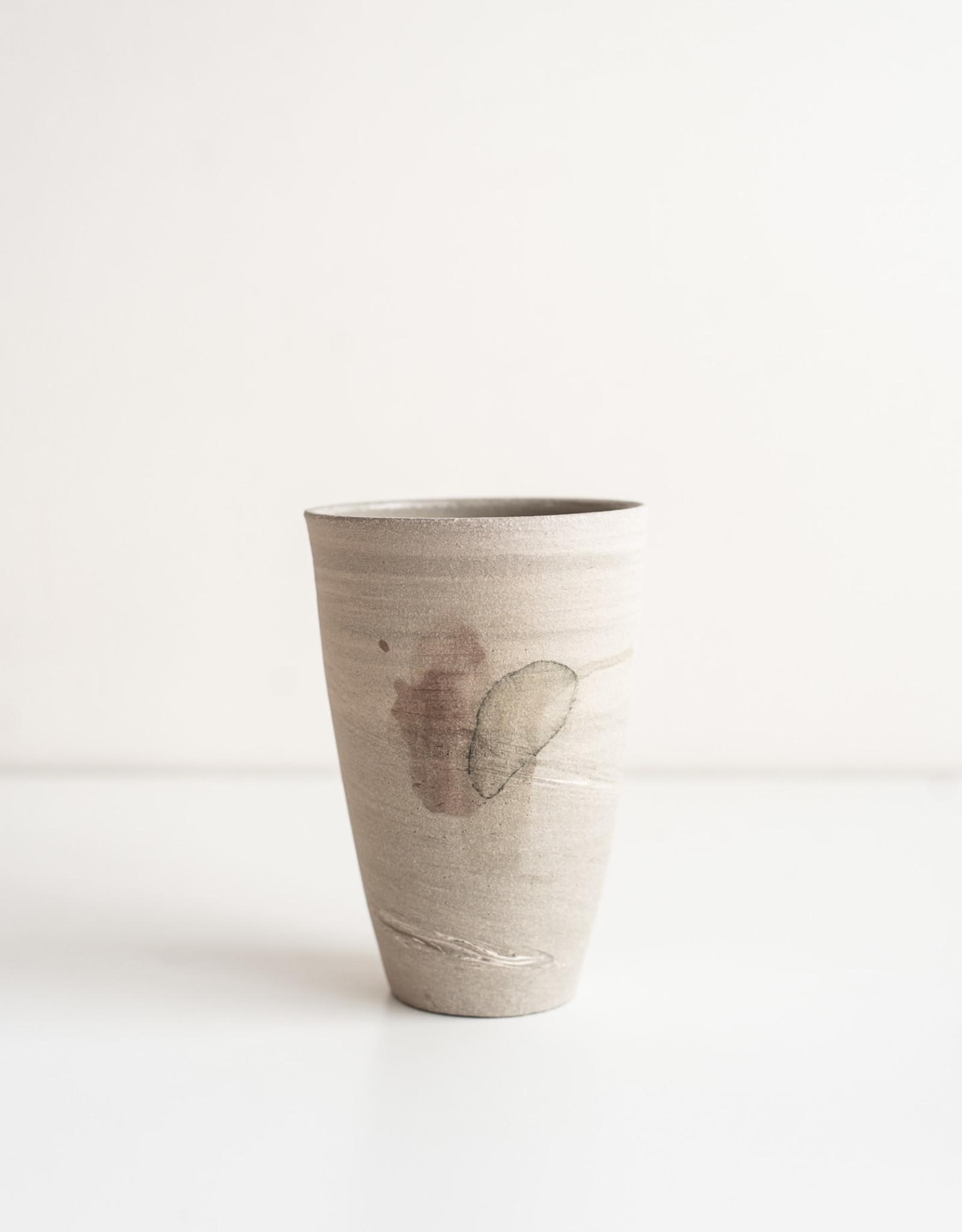 Marie-France Labrosse Vase Gris