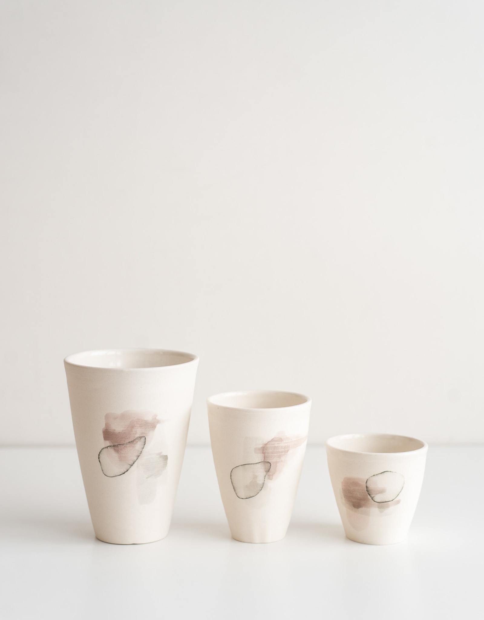 Marie-France Labrosse Vase Blanc
