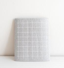 Ten & Co Essuie-Tout réutilisable Quadrillé gris
