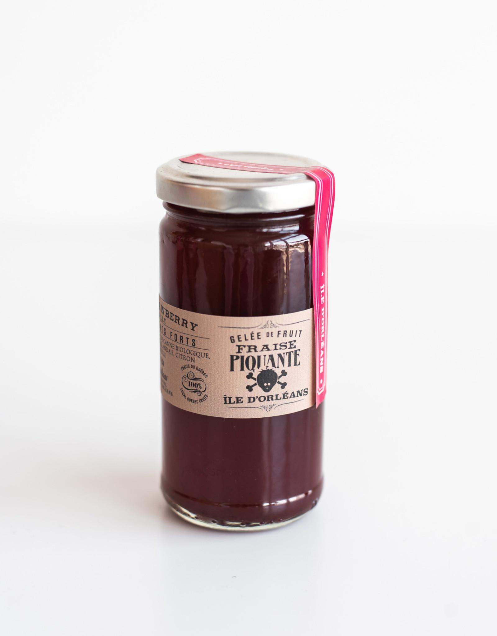 Confiturerie Tigidou Gelée de fraise Piquante