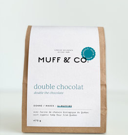Muff & co. Mélange à muffin Double Chocolat
