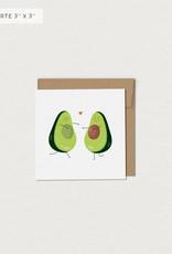 Mimosa Desing Carte de souhait-Avocaduos
