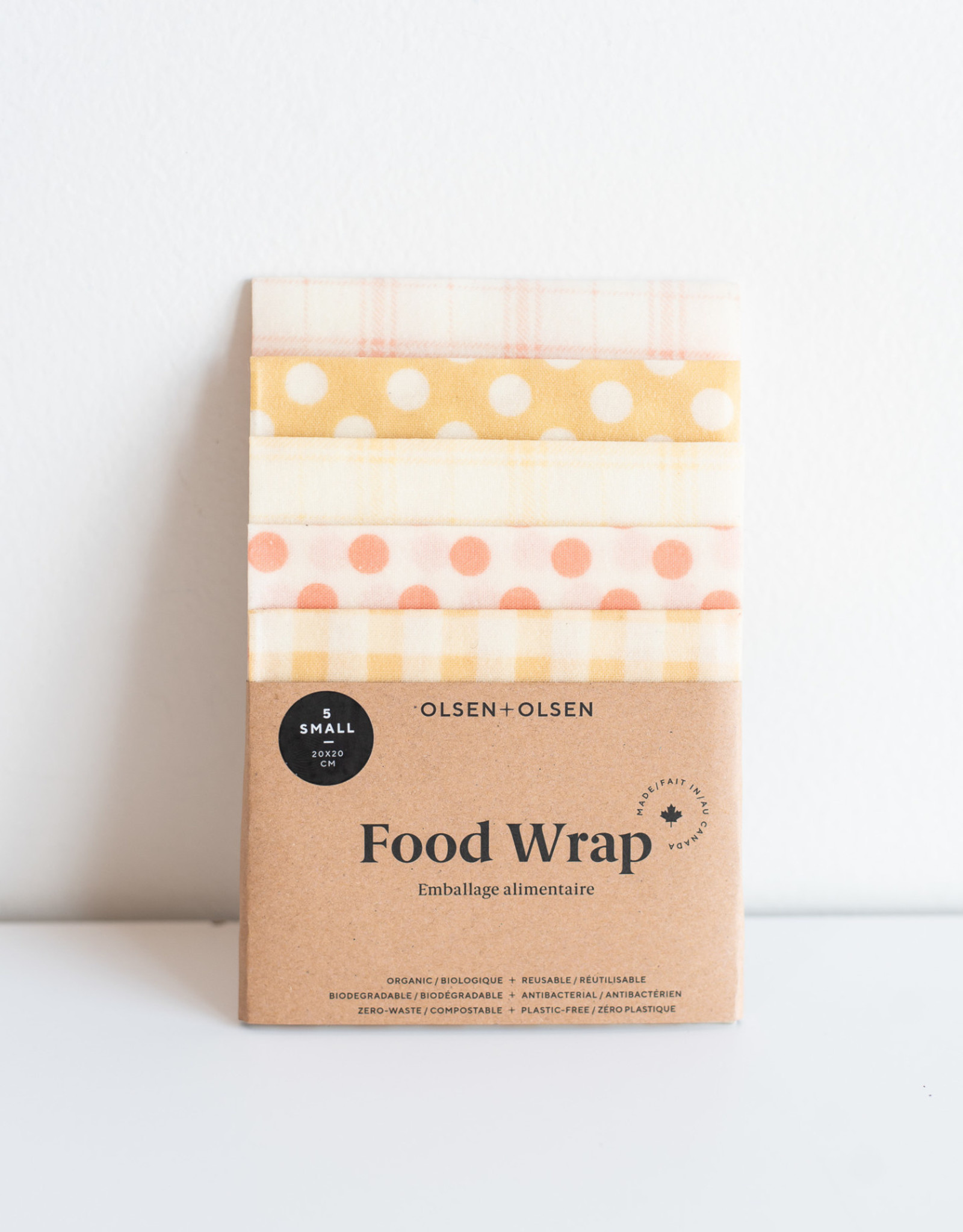 Olsen Olsen 5 petits Film Alimentaire-Pois