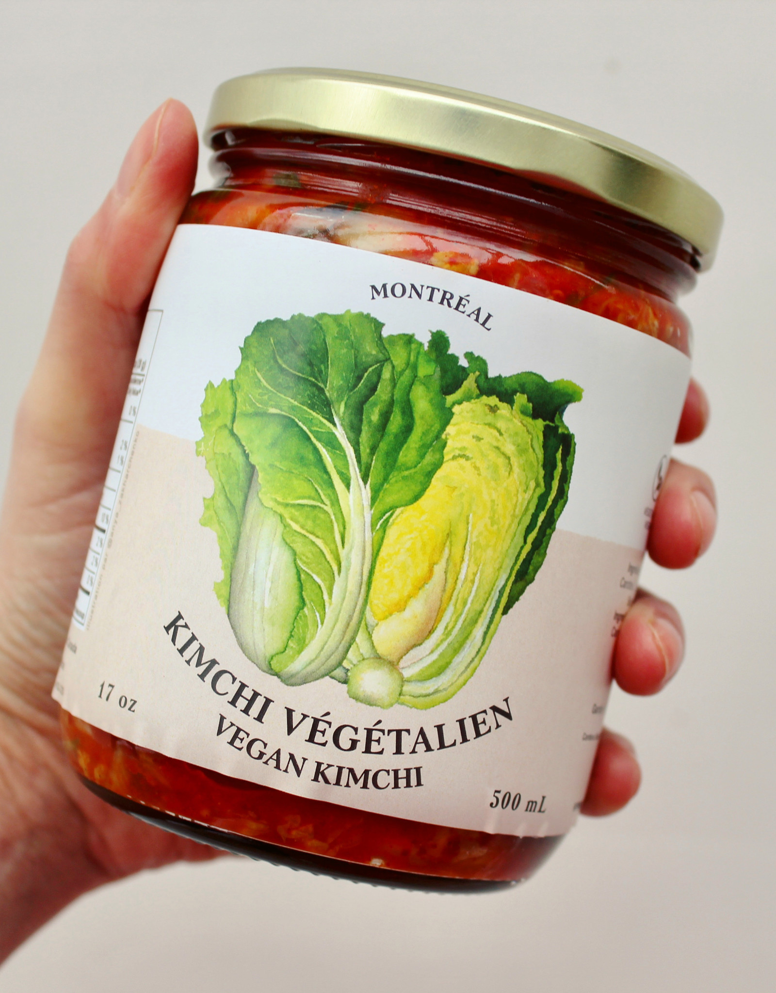 Good Big Nice Kimchi Végétalien (pot)