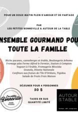 Autour de la Table Ensemble Gourmand X Les Petites Bonneville