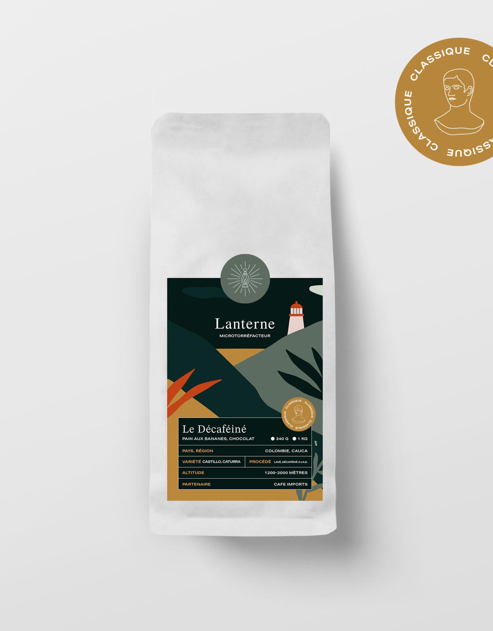Café Lanterne Décaféiné Colombie