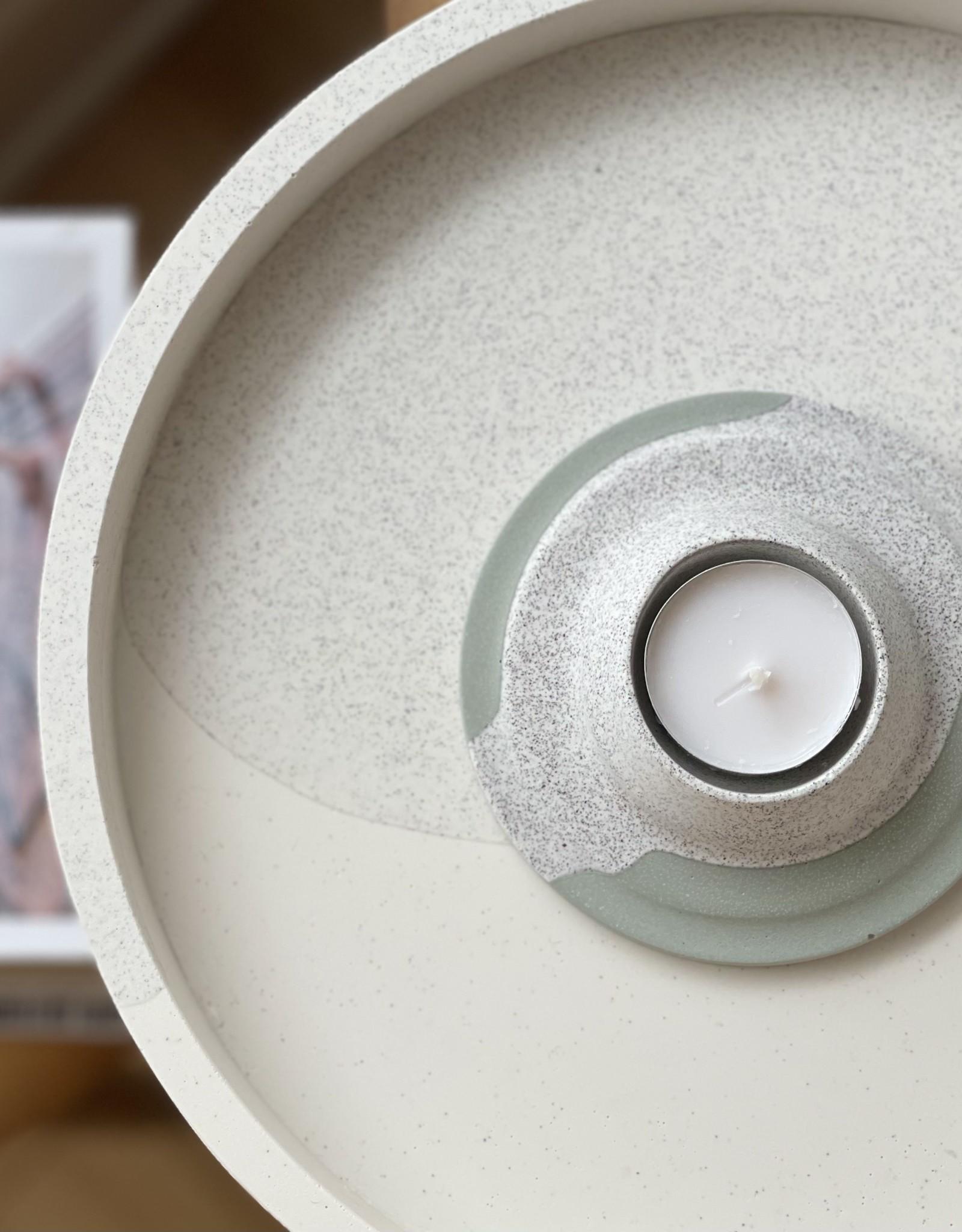 L'écueil Atelier Bougeoir plat pour lampion