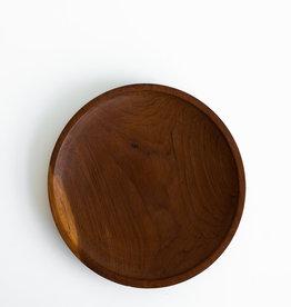 Autour de la Table Petite Assiette en teck